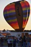 Le festival 2016 chaud de ballon à air d'Adirondack Photos stock
