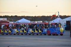 Le festival 2016 chaud de ballon à air d'Adirondack Photographie stock