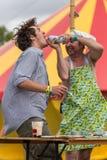 Le festival d'arbre de Larmer, Tollard royal, WILTSHIRE, R-U Photos libres de droits