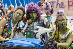 Le festival d'arbre de Larmer, Tollard royal, WILTSHIRE, R-U Image libre de droits