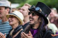 Le festival d'arbre de Larmer, Tollard royal, WILTSHIRE, R-U Photo libre de droits