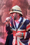 Le festival d'arbre de Larmer, Tollard royal, WILTSHIRE, R-U Photos stock
