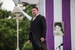 Le festival d'opéra pour tout libèrent la visite sur l'étape du pair de ville Photos stock