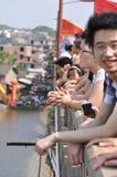 Le festival de bateau de dragon Image libre de droits