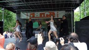 Le festival 7 de danse de 2013 danses Image libre de droits