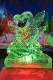Le festival de glace-lanterne d'amour Images libres de droits