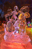 Le festival de glace-lanterne de fourmi Image libre de droits