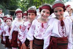 Le festival de la culture de Lemko Photographie stock