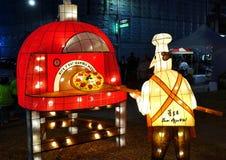 Le festival 2018 de lanterne à Taïwan Photo libre de droits