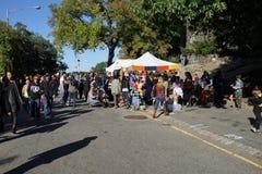 Le festival 2015 médiéval à la partie 46 de parc de Tryon de fort Images libres de droits