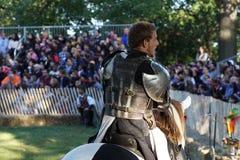 Le festival 2015 médiéval à la partie 24 de parc de Tryon de fort Photos libres de droits