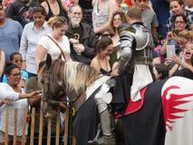 2016 le festival médiéval 58 Photo libre de droits