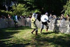 Le festival 2015 médiéval au parc 44 de Tryon de fort Images stock