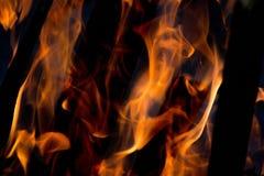 Le feu à 4000ths d'une seconde Image stock