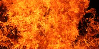 Le feu Image stock