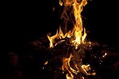 Le feu 1 Image libre de droits