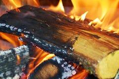 Le feu brûlant, fond abstrait de flammes photos stock