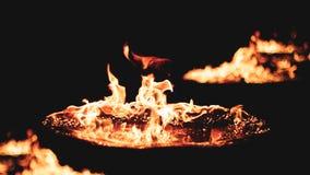Le feu chez moi Images libres de droits