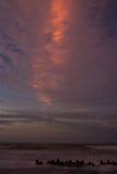 Le feu dans les nuages Photos libres de droits
