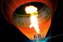 Le feu de ballon Image libre de droits