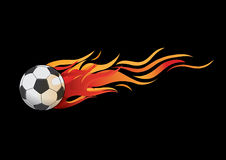 Le feu de boule illustration stock