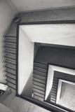 Le feu de cage d'escalier photo stock
