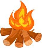Le feu de camp illustration stock