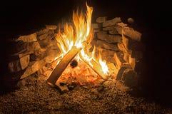 Le feu de camp Photos stock