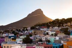 Le feu de Cape Town de colline de signal Photos stock