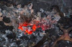 Le feu de forge Photo stock