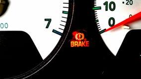 Le feu de freinage dessus Image libre de droits