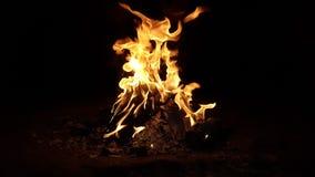 Le feu de l'enfer Photos stock