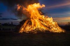 Le feu de Pâques Photo libre de droits