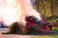 Le feu de Pâques Photos libres de droits