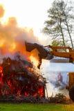 Le feu de Pâques Photo stock