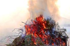Le feu de Pâques Photographie stock