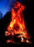 Le feu de Pâques Photographie stock libre de droits
