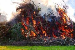 Le feu de Pâques Images stock