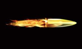 Le feu du tir de balles Image stock