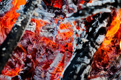 Le feu et la chaleur Image stock