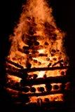 Le feu géant Image libre de droits