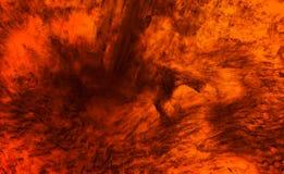 Le feu profond Photo libre de droits