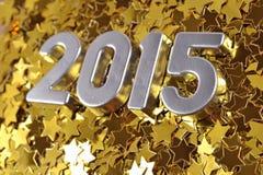 le figure d'argento da 2015 anni Immagini Stock Libere da Diritti