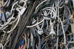 Le fil électrique pour réutilisent Photo libre de droits