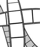 le film a isolé la photo de film Photographie stock
