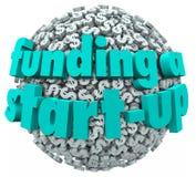 Le financement des finances de démarrage d'Business New Company illustration libre de droits