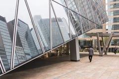 Le finestre dei grattacieli in Hong Kong Immagine Stock Libera da Diritti