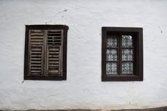 Le finestre di paia fotografia stock