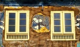 Le finestre gemellate Immagini Stock Libere da Diritti