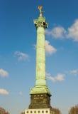 Le fléau de juillet à la place de la Bastille Image stock